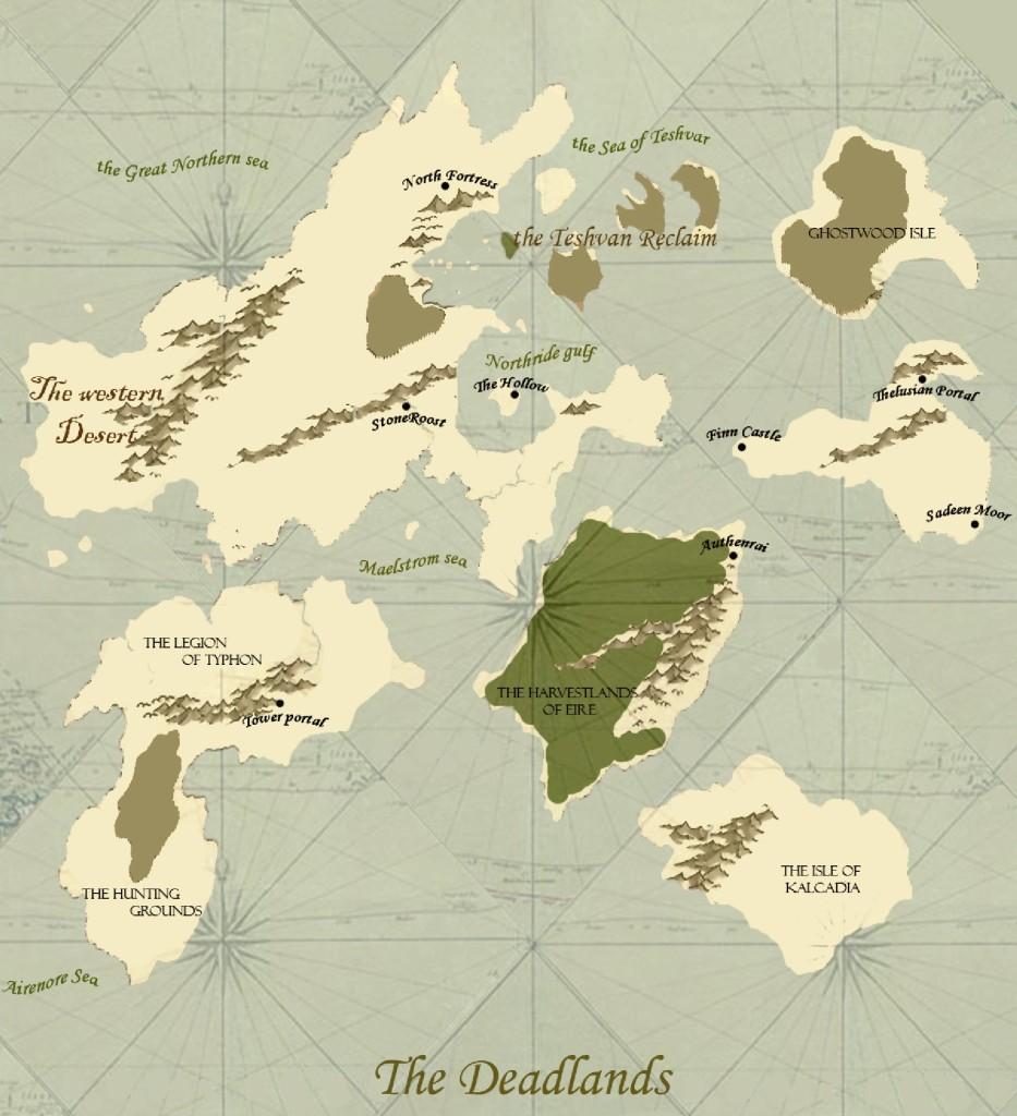 Deadlands Map 2008